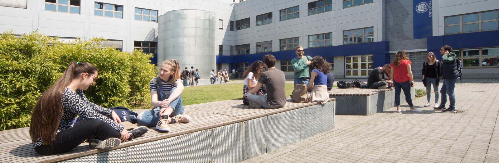 Studenti del Dipartimento di Scienze Economiche in Caniana
